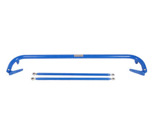 Load image into Gallery viewer, NRG Seat Belt Race Harness Bar Toyota Corolla (1991-2012) Blue/Titanium