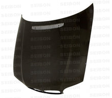 Load image into Gallery viewer, SEIBON Carbon Fiber Hood BMW E46 3 Series / E46 M3 (2002-2006) OEM or GTR Style