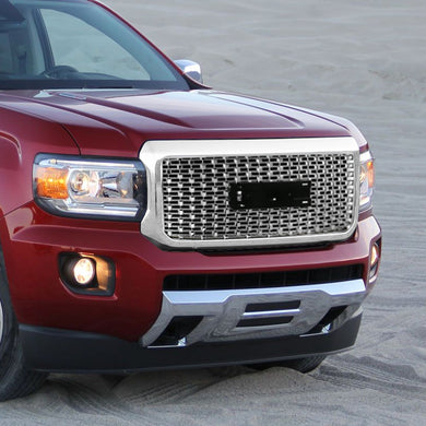 Spec-D Grill GMC Canyon (2015-2018) Mesh Chrome or Black