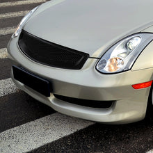 Load image into Gallery viewer, Spec-D Grill Infiniti G35 Coupe (03-07) JDM Style / Mesh Gloss or Matte Black