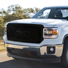 Load image into Gallery viewer, Spec-D Grill GMC Sierra 1500 (2014-2015) Mesh Gloss Black