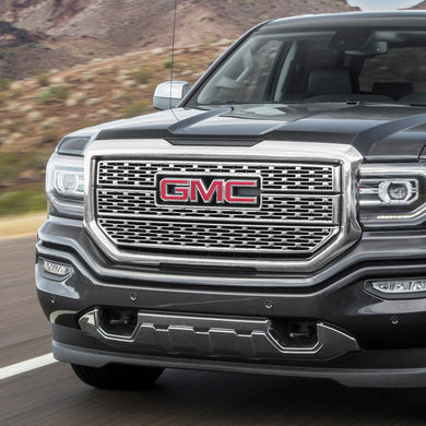 Spec-D Grill GMC Sierra (2016-2017-2018) Mesh Gloss Black or Chrome