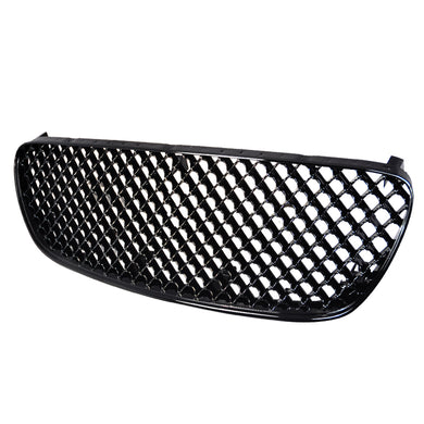 Spec-D Grill Nissan Maxima (2002-2003) Black or Chrome Mesh Grill