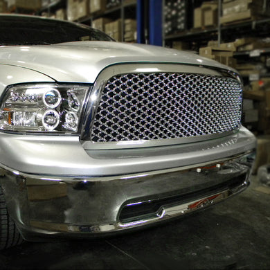 Spec-D Grill Dodge Ram (2009-2012) Mesh Chrome