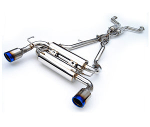Invidia Gemini Exhaust Nissan 350Z (2003-2008) Titanium Tips