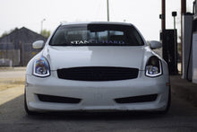 Load image into Gallery viewer, Spec-D Projector Headlights Infiniti G35 Coupe [Sequential] (03-07) Black / Chrome / Smoke
