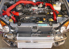 Load image into Gallery viewer, Injen Turbo Intercooler Subaru WRX / STi 2.5L Turbo (2004-2005) Polished / Red