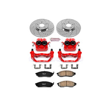 Load image into Gallery viewer, PowerStop Z23 Evolution Sport Brake Rotors + Pads + Caliper Nissan 350Z w/ 2 Piston Front Caliper (06-08) Front or Rear
