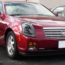 Load image into Gallery viewer, Spec-D Projector Headlights Cadillac CTS [Halo LED] (03-07) Black / Smoked / Chrome