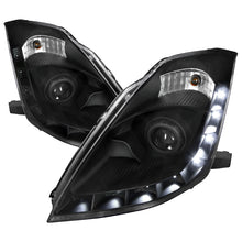 Load image into Gallery viewer, Spec-D Projector Headlights Nissan 350Z [DRL HID] (06-09) Black / Smoke / Clear