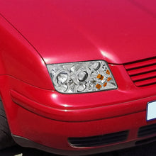 Load image into Gallery viewer, Spec-D Projector Headlights VW Jetta MK4 [Halo DRL] (99-05) Black or Chrome