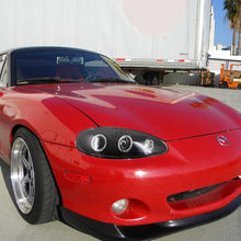 Load image into Gallery viewer, Spec-D Projector Headlights Mazda Miata NB [Halo] (2001-2005) Black or Chrome