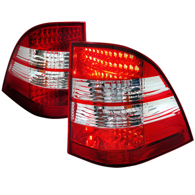 Spec-D LED Tail Lights Mercedes ML320 ML350 ML430 ML500 ML55 AMG W163 (98-05)  Red