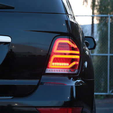 Spec-D LED Tail Lights Mercedes ML320 ML350 ML450 ML500 ML550 ML63 W164 (06-11) Smoke/Red/Clear