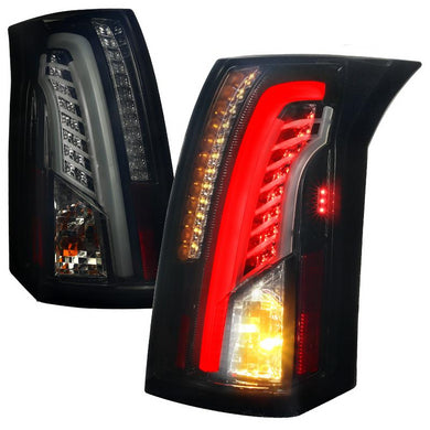 Spec-D LED Tail Lights Cadillac CTS [LED] (2003-2007) Smoke, Red or Clear