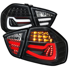 Load image into Gallery viewer, Spec-D LED Tail Lights BMW E90 328i/335i Sedan (05-08) Red / Chrome / Black