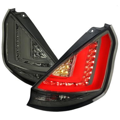 Spec-D LED Tail Lights Ford Fiesta (2011-2013) Red or Smoke