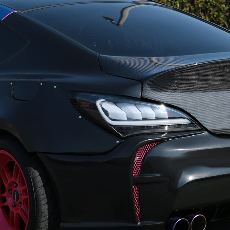 Spec D Tail Lights Hyundai Genesis Coupe Sequential