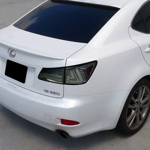 Spec-D Tail Lights Lexus IS250 / IS350 [LED] (06-08) Black / Chrome / Red / Smoked