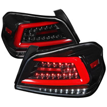 Load image into Gallery viewer, Spec-D Tail Lights Subaru WRX & STI [Sequential LED] (2015-2020) TR Style Black / Smoked / Red