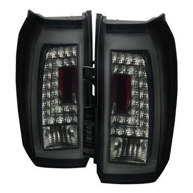 Spec-D LED Tail Lights GMC Yukon [LED] (2015-2019) Black / Smoke / Red