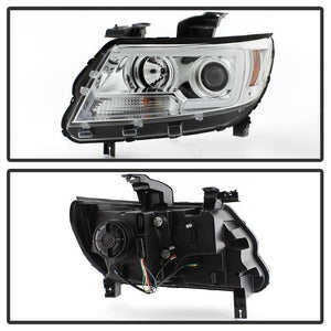 Spyder Projector Headlights Chevy Colorado [Halogen Models] (15-17) Black or Chrome