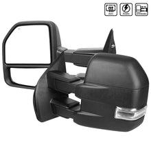 Load image into Gallery viewer, Spec-D Towing Mirrors Ford F150 (2015-2018) Powered / Heated / LED Turn Signal