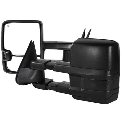Spec-D Towing Mirrors Chevy Silverado / Avalanche (03-06) Powered Extendable Heated