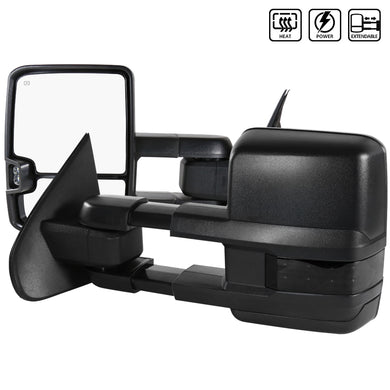 Spec-D Towing Mirrors Chevy Silverado (2014-2018) Powered Extended & Heated