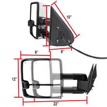 Load image into Gallery viewer, Spec-D Towing Mirrors Chevy Avalanche 1500/2500 (2002) LED / Powered / Heated