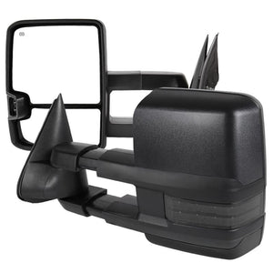 Spec-D Towing Mirrors Chevy Silverado 1500/2500 (99-02) HD (01-02) LED / Powered / Heated