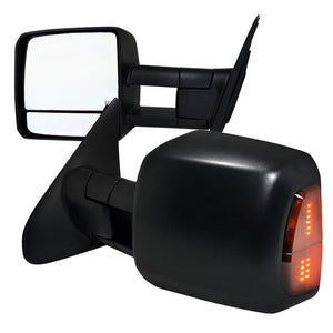 Spec-D Towing Mirrors Toyota Sequoia (2008-2017) Powered / Heated / LED Turn Signal