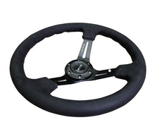 Load image into Gallery viewer, NRG Steering Wheels (Alcantara - Black Stitch - 350mm) RST-018SA