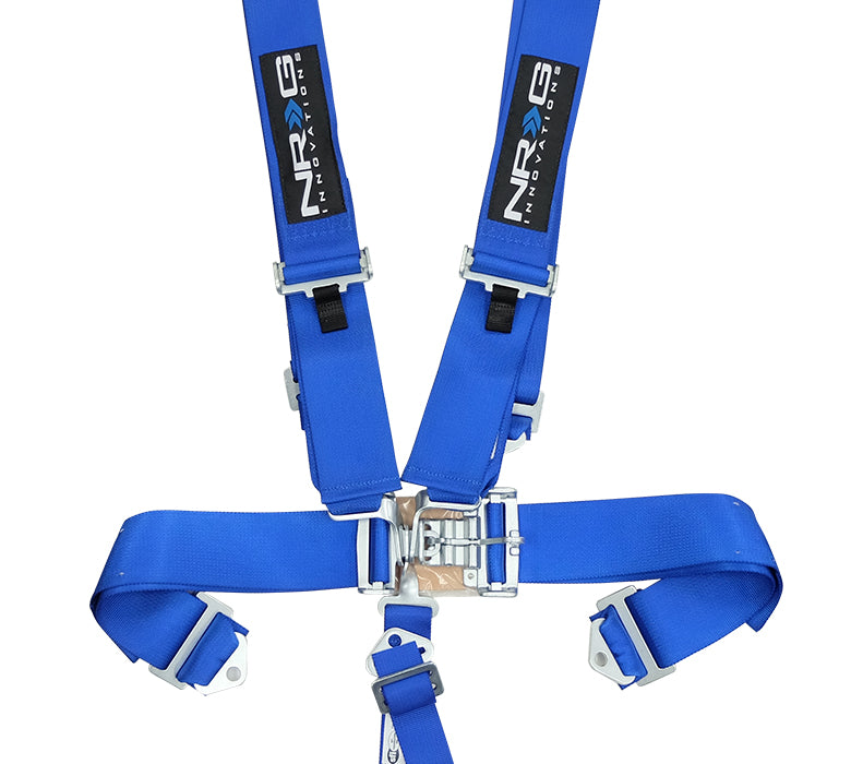 NRG 5 Point Racing Harness (Blue - SFi Approved) SBH-5PCBL