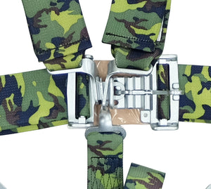 NRG 5 Point Racing Harness (Camo - SFi Approved) SBH-5PCCAMO