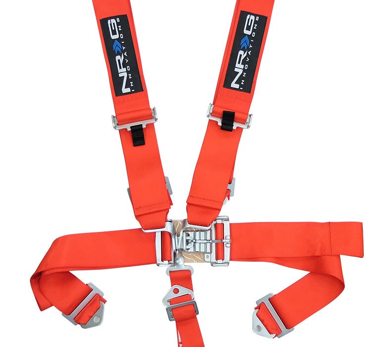NRG 5 Point Racing Harness (Red - SFi Approved) SBH-5PCRD