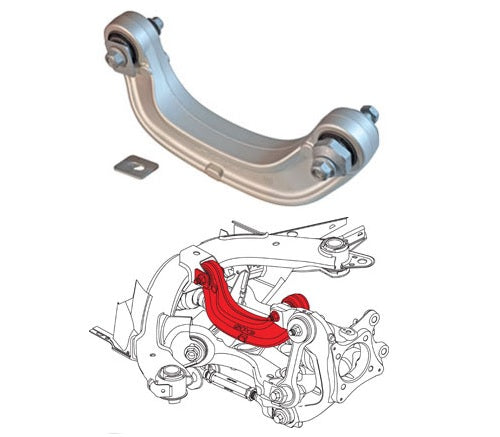 SPC Camber Arms Ford Mustang (2015-2019) [Rear Adjustable] 72370