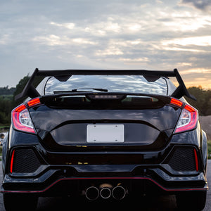 Spec-D Spoiler Honda Civic 5 Door Hatchback (2017-2020) Civic Type-R Style Wing