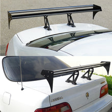 "Load image into Gallery viewer, Spec-D Universal F1 / GT Trunk Wing & Spoiler (52"" Wide) Black Aluminum"