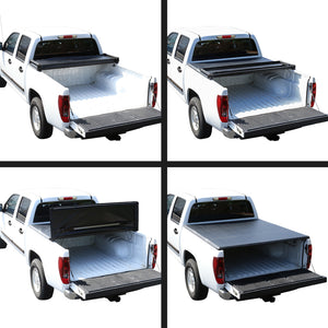 Spec-D Tonneau Cover Chevy Silverado (1999-2006) Tri-Fold Soft Cover