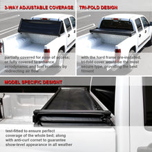 Load image into Gallery viewer, Spec-D Tonneau Cover Chevy Colorado (2004-2011) Tri-Fold Soft Cover