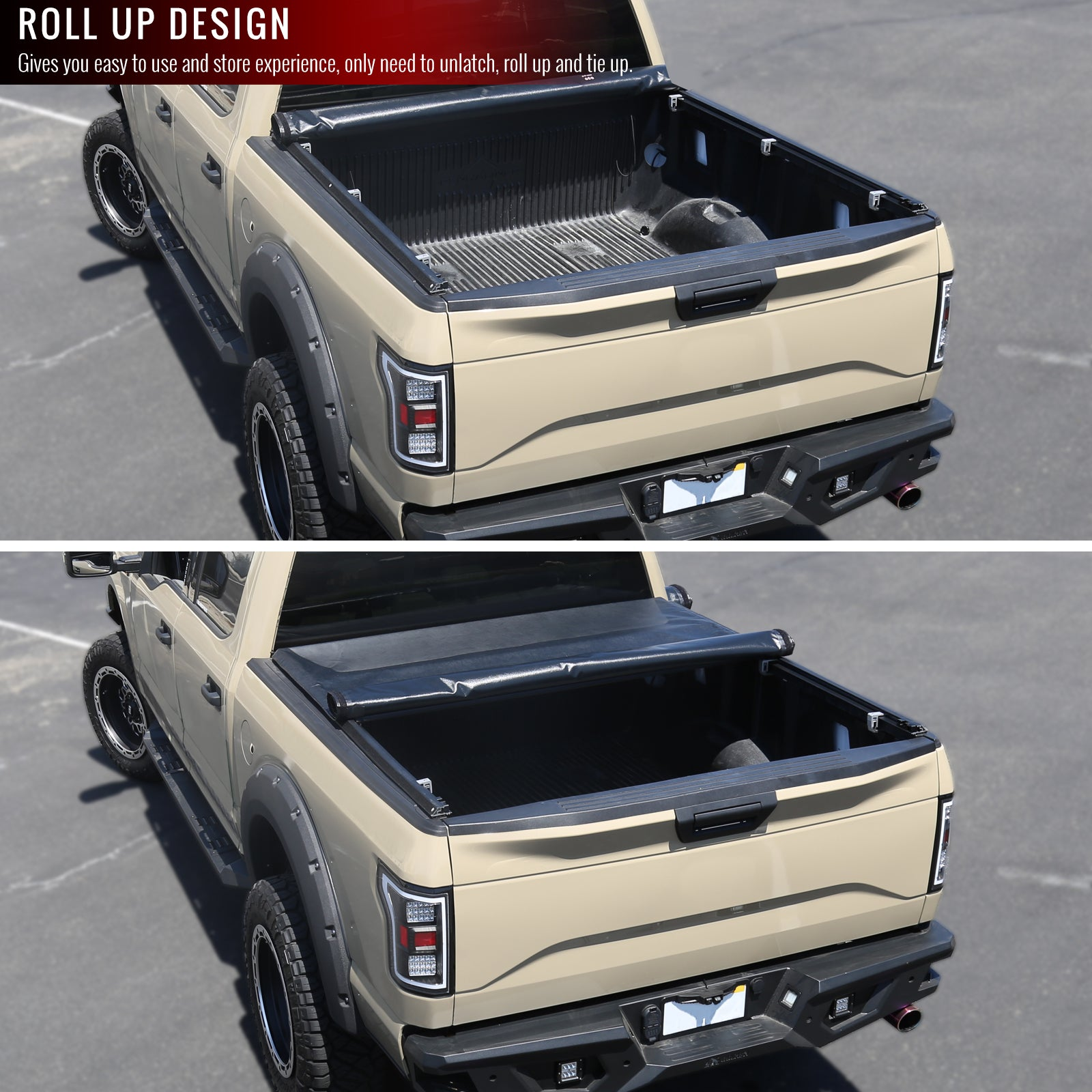 Spec D Tonneau Cover Chevy S10 W 6 Bed 1982 1993 Roll Up Vinyl W Redline360