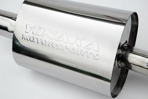 "Yonaka Exhaust Honda Civic Sedan DX / EX / LX (2006-2011) 2.5"" Catback"