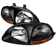Load image into Gallery viewer, Spec-D OEM Replacement Headlights Honda Civic EK [JDM Euro] (96-98) Black or Chrome