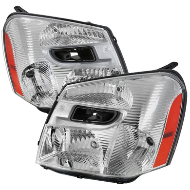 Spec-D OEM Replacement Headlights Chevy Equinox (2005-2009) w/ Amber Reflectors