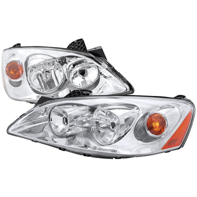 Spec-D OEM Replacement Headlights Pontiac G6 (2005-2010) w/ Amber Reflector