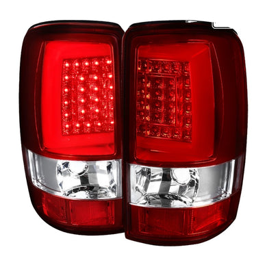 Spec-D LED Tail Lights Chevy Tahoe / Suburban [LED] (2000-2006) Black / Smoke / Red