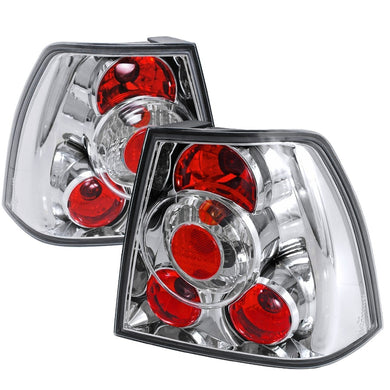 Spec-D Replacement Tail Lights VW Jetta (1999-2004) Altezza Chrome/Clear