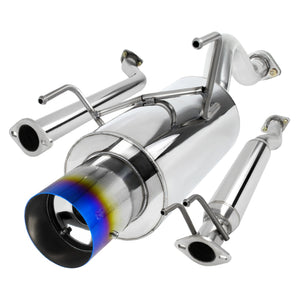 Spec-D Tuning Exhaust Acura RSX Base (02-06) N1 Muffler w/ Burnt Blue Tip