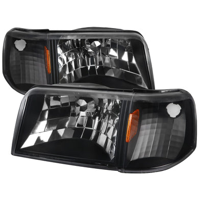 Spec-D OEM Replacement Headlights Ford Ranger (1993-1997) w/ Corner Signal Lamps